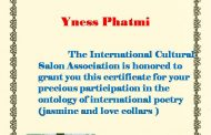 Certificates : For poets participating in the ontology (Jasmine and Love Collars)